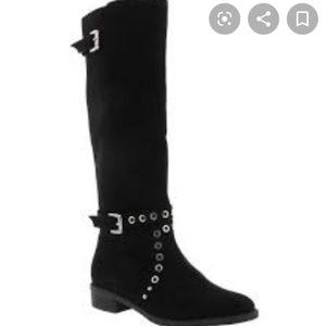 Sam Edelman Pia Grommet Girls Tall Boot